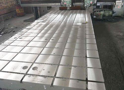 鑄鋼試驗平台