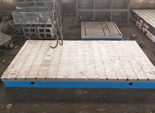 鑄鐵T型槽工作台